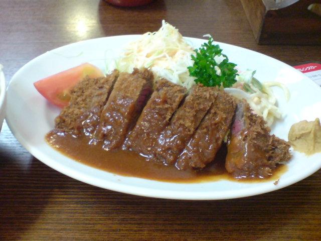 神戸元町アサヒ食堂【ビーフカツ】