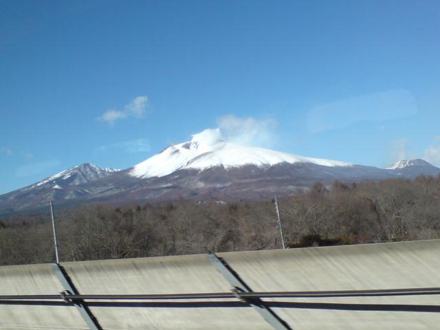 阿蘇、浅間、富士